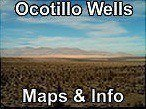 Ocotillo Wells Maps & Info