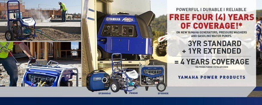 Yamaha - Current Offers - Power Products